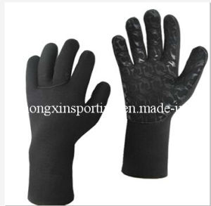 Gloves with Waterproof Printing for Diving & Fishing (HX-G0029) pictures & photos
