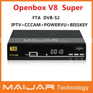 China New Satellite Receiver Original Openbox V8 Super DVB-S2 HD