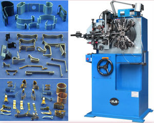 Automatic Electrical Contacts Making Machine for Electric Apparatus Spring Contacts and Spring Clips pictures & photos