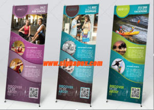 Indoor and Outdoor Advertising X Stand Display pictures & photos