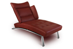 Leather Chaise Lounge (8006) pictures & photos