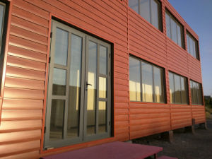 High Quality Polyurethane Sandwich Panel Container Hotel/House pictures & photos