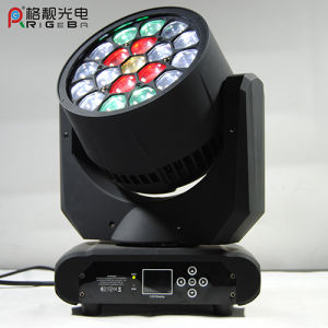 Best Selling Stage 19LEDs 12W Hawkeye LED Moving Head Light pictures & photos