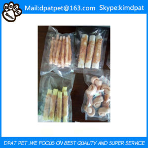 China Manufacturer Private Label Dog Chew Porkhide Twists Dog Treats