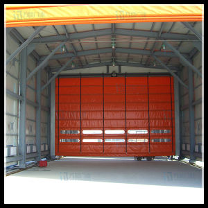Auto Transparent Windodw Newly Design Industrial Folding Door