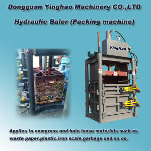Bottle Packing Machine/Pet Dydraulic Baler