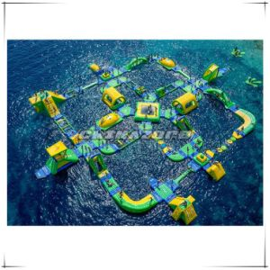 Good Design Inflated Air Sealed Water Park From Guangzhou Factory