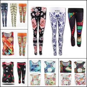 Custom Jogging Pants Compression Tights, Women Running Tights, Yoga Wear pictures & photos
