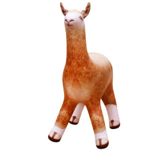 Giant Animal Display in Garden PVC or TPU Inflatable Alpaca pictures & photos