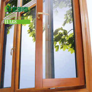 Larch Wood Windows Cladded by Aluminum (Tilt & Turn)