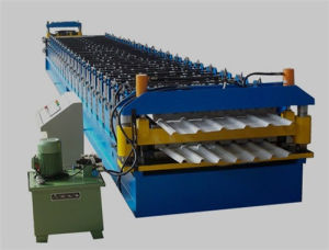 Metal Double Deck Tile Roll Forming Machine (XH850-840)