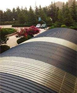 Impact Resistance Farm Using Roof Sheet pictures & photos