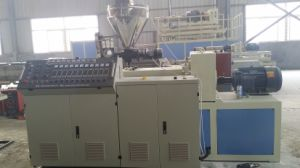 Plastic Double Screw Extruder with CE and ISO9001 pictures & photos