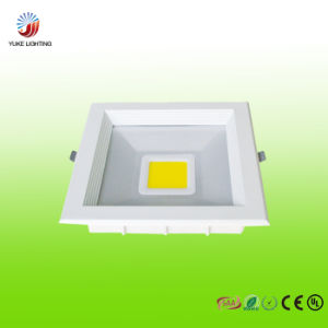 20W LED Glass Square Panel Light with CE RoHS