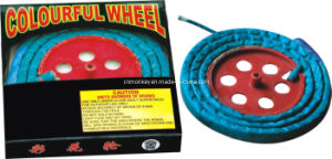 Colourful Wheel Novelties Fire Works