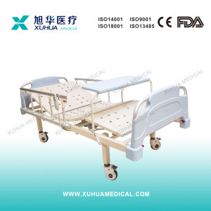 Two Functions Motorized Hospital Ward Bed (XH-15) pictures & photos