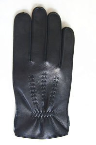 Men′s Fashion Leather Gloves (JYG-24102) pictures & photos
