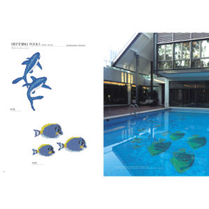 Mosaic Glass Tile in Art Pattern for Swimming Pool Decotation pictures & photos