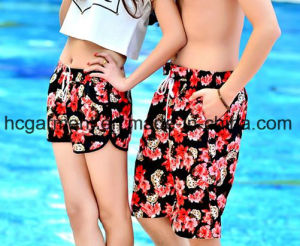 Sweethearts Shorts Couples Clothing, Board Shorts for Lover