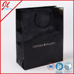Custom Made Logo Printed Brand Paper Gift Bag for Shopping Wholesale pictures & photos