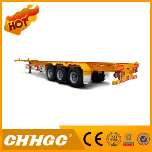 3axle 40ton 40FT Skeletal Container Semi-Trailer