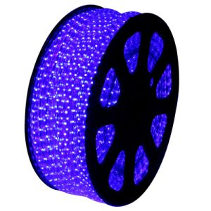 SMD5050 220V LED Flexible Strip with Waterproof (blue)