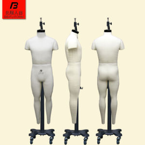 Beifuform USA 40 Size Male Full Body Fitting Mannequin Adjustable  Industrial Model Standing