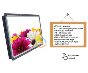 "Resolution 1920X1080 Wide Screen 32"" Open Frame Monitor with High Brightness (MW-321MEH) pictures & photos"