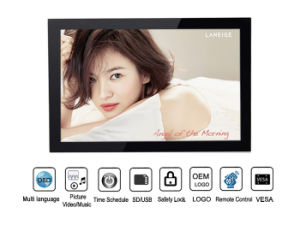 High Resolution LCD 15.4 Inch Digital Photo Frame with Video Input (MW-1503DPF) pictures & photos