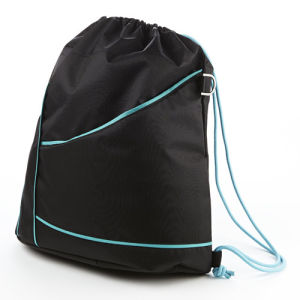 Lightweight Promotional Sport Bag Drawstring Backpack Gym Sack Bag pictures & photos