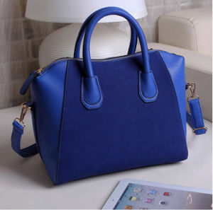 New Female Package Korean Frosted Smile Face PU Retro Shoulder Bag Female Handbag Wholesale pictures & photos