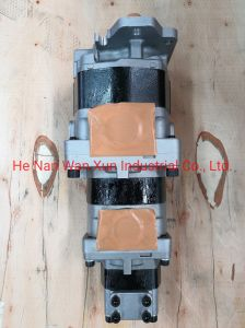 Notonparts Hydraulic Pump Assy 44083-61480 Hydraulic Gear Pump 4408361480 for Kawasaki 90Z-IV Wheel Loader
