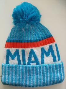 fa3abb757041f Football Team USA Miami Beanies Cap Warm Winter Hat Knitted Cap Hip Hop Men  Women Lovers