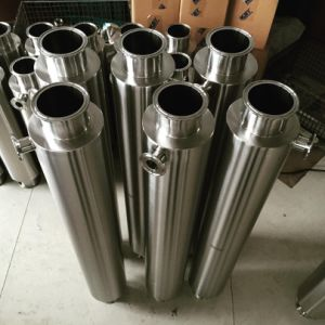 Stainless Steel Fully Jacketed Dewaxing Column Triclamp Spool