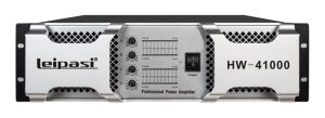 New Product High Power Professional Power Amplifier 3u 4 Channels Hw41000