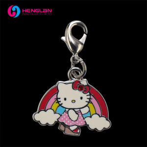 283b5477d China Fantastic Polished Enameled Hello Kitty Rainbow Charm for ...