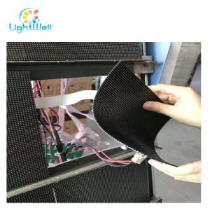 Soft Full Color Flexible Programmable LED Display Screen with 64*64 Pm2.5 Modules