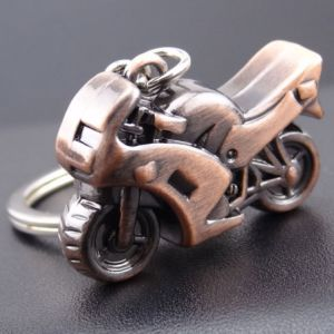 High Quality 3D Motorcycle Keychain for Promotion pictures & photos