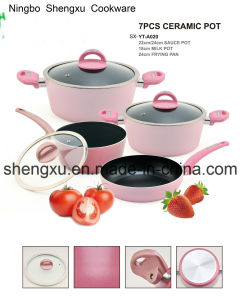 Coated Alloy Aluminium Non-Stick Frying Pan Pot Stockpot for Cookware Sets Sx-Yt-A020