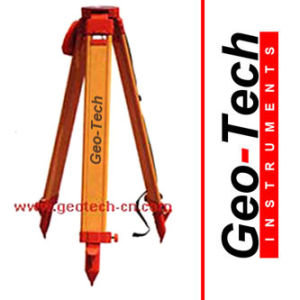 Heavy Duty Wooden Surveying Tripod pictures & photos