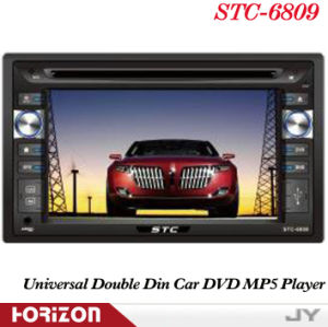 for iPod Player The Car GPS Navigation Stc-6809 DVD Automotivo GPS, Multimedia DVD Player