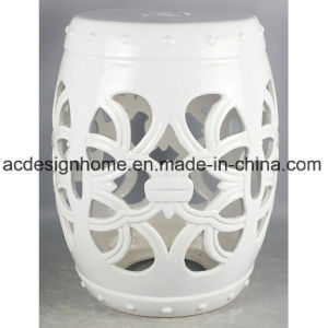 Peachy Best Price Hot Selling Decorative Creamy White Piercing Ceramic Stool For Garden Decor Andrewgaddart Wooden Chair Designs For Living Room Andrewgaddartcom