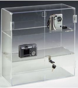Customize Clear Camera Acrylic Display Stand pictures & photos