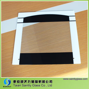 Professional Low Price Silk Printing Tempered Glass for Oven