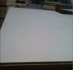 Bleached White Poplar Plywood / 18mm