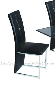 Modern PU and A3 Carbon Steel Dining Chair (SY-5360)