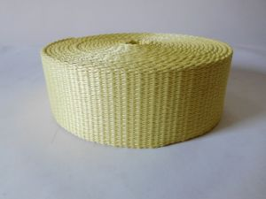 50mm High Strong Pulling Force Aramid Fiber Webbing for Industry