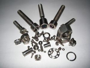 China Titanium Fasteners, Ti Screws Bolts Hex Nuts Washers
