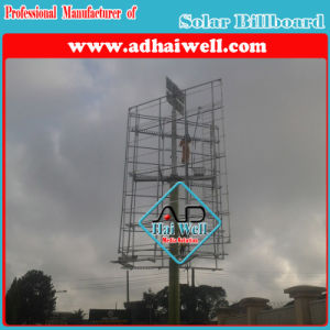 Outdoor Advertisement Billboard with Solar Panel pictures & photos