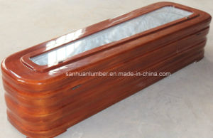 High Quality Coffin with Glass for Promotion ( pictures & photos